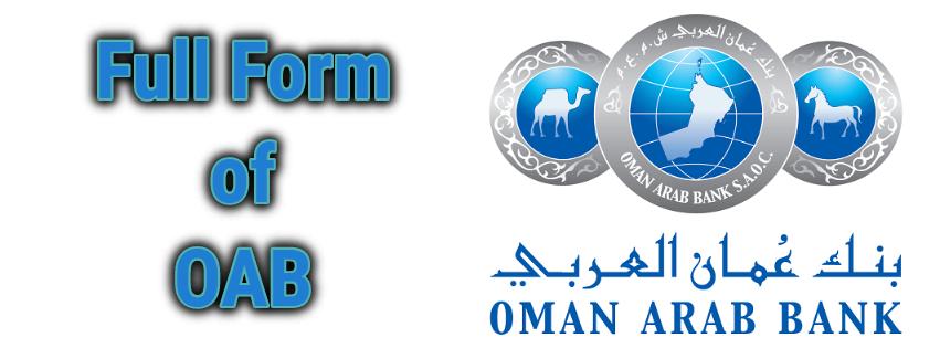 Full Form of OAB