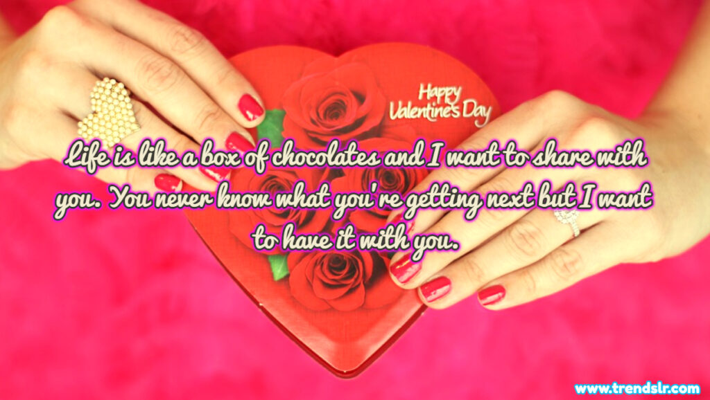 Happy chocolate Day text for him her