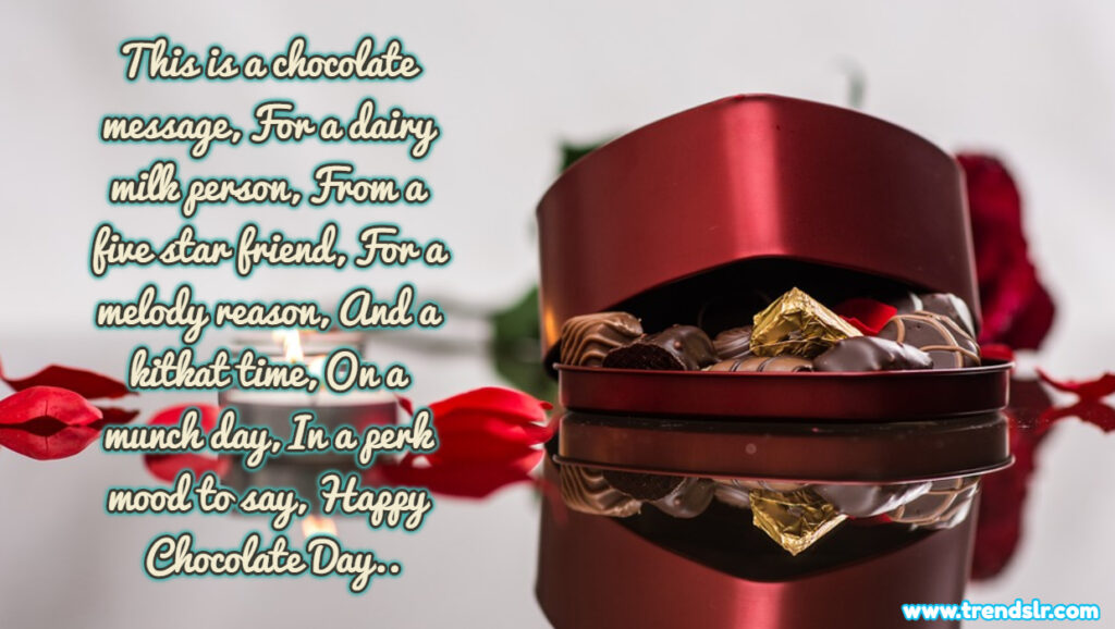 Romantic Happy Chocolate Day Wishes for Girlfriend