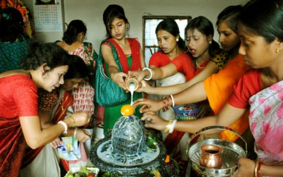 Shivaratri Celebrations by Women