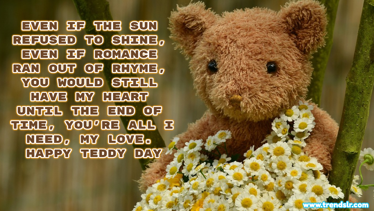 Happy Teddy Day SMS Messages | Quotes Wishes Greetings | Sayings for whatsapp