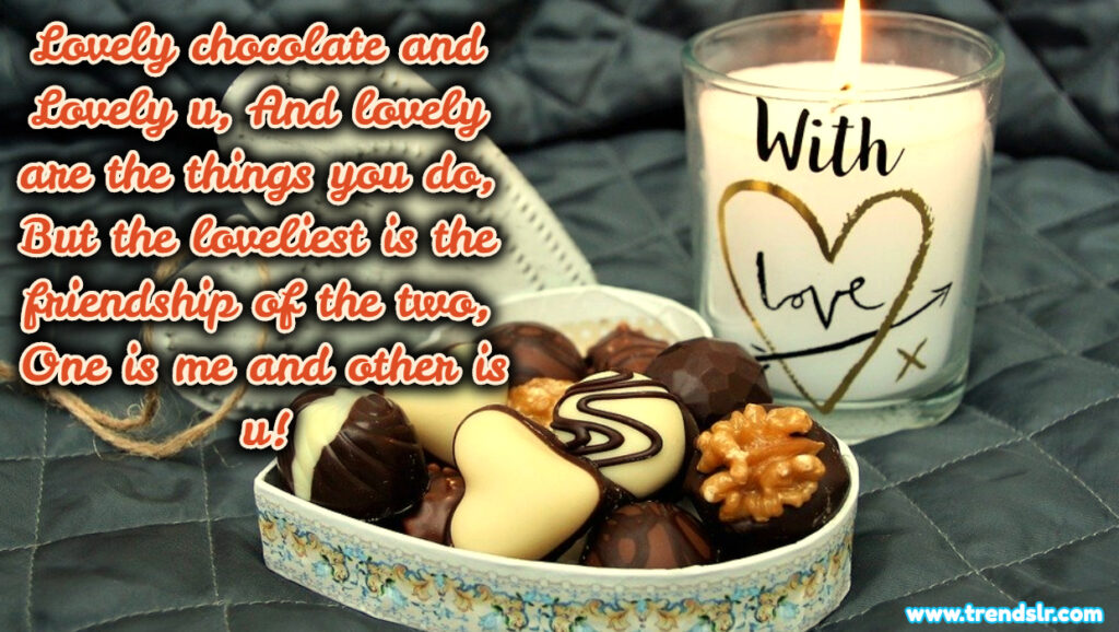 chocolate day heart touching sms