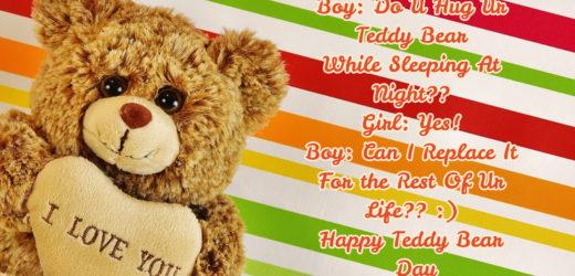 Teddy Day SMS for Girlfriend / Boyfriend | Him / Her