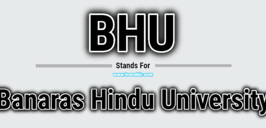 Full Form of BHU