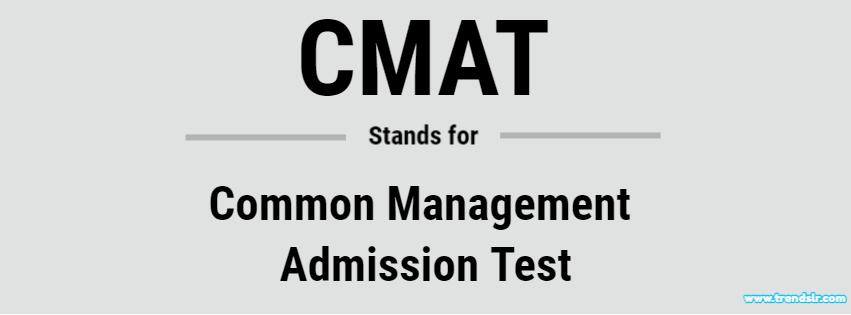 Full Form of CMAT