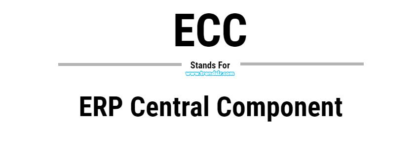 Full Form of ECC