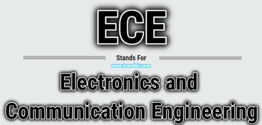 Full Form of ECE