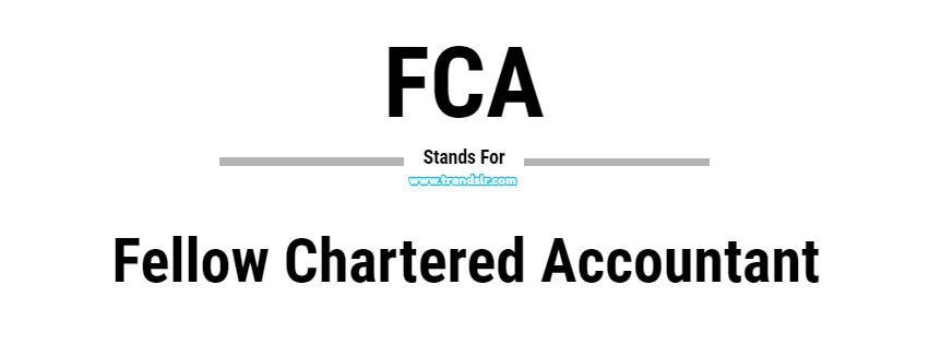 Full Form of FCA