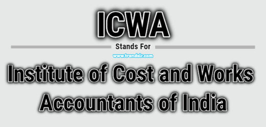 Full Form of ICWA