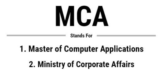 Full Form of MCA – MCA Syllabus – Career Scope after MCA