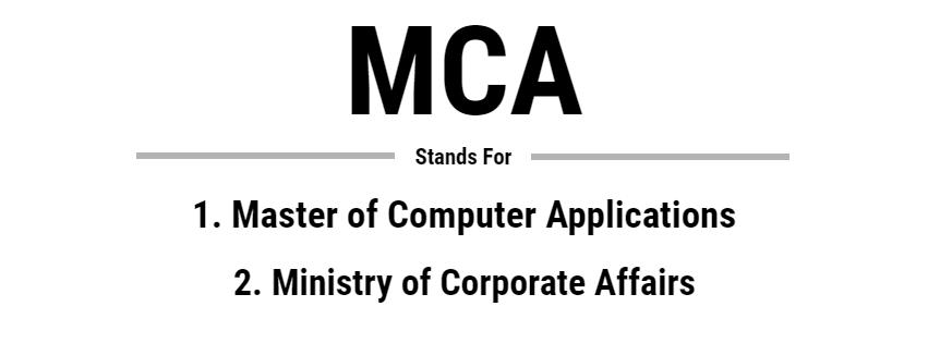 Full Form of MCA – MCA Syllabus – Career Scope after MCA