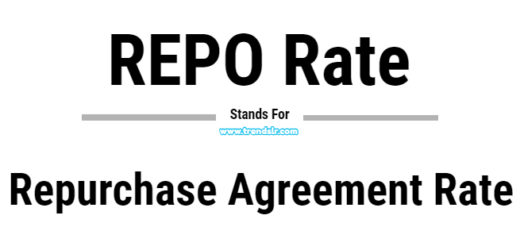 Full Form of REPO Rate