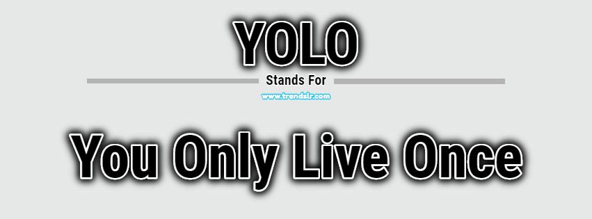 Full Form of YOLO