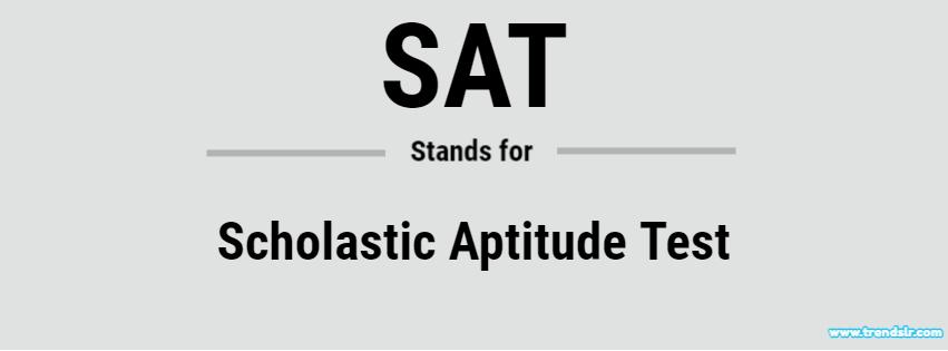 Full Form of SAT