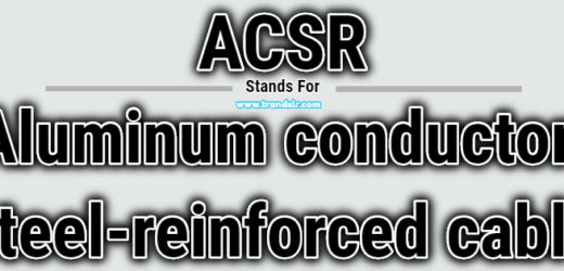 Full Form of ACSR