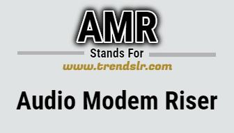 Full Form of AMR