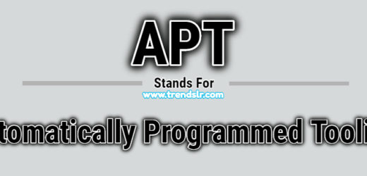 Full Form of APT