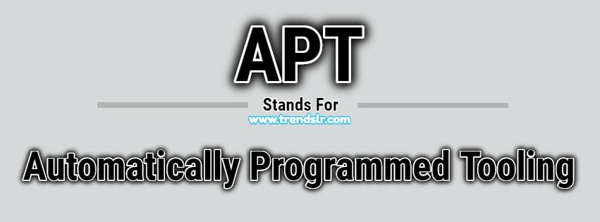 Full Form of APT