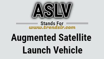 Full Form of ASLV