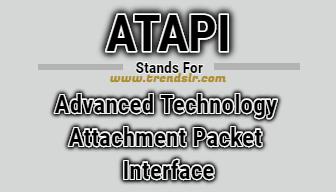 Full Form of ATAPI