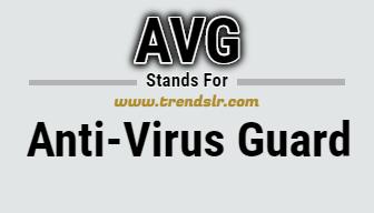 Full Form of AVG