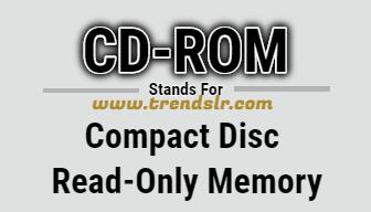 Full Form of CD-ROM