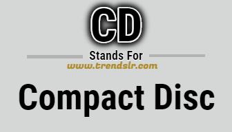 Full Form of CD