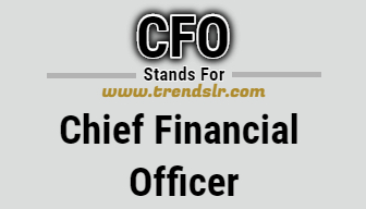 Full Form of CFO