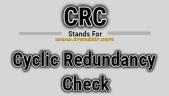 Full Form of CRC
