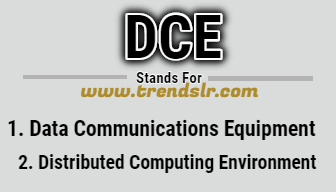Full Form of DCE