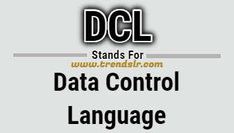 Full Form of DCL