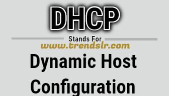 Full Form of DHCP