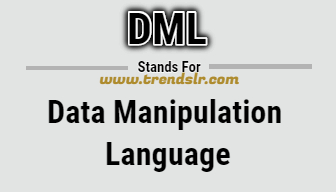 Full Form of DML