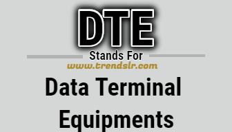 Full Form of DTE
