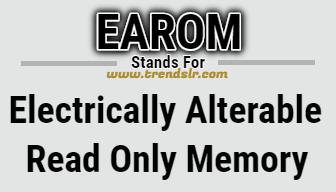 Full Form of EAROM