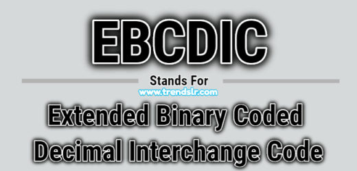 Full Form of EBCDIC