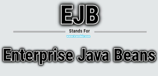 Full Form of EJB