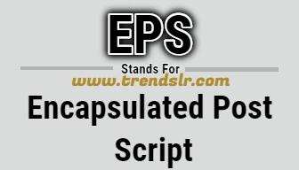 Full Form of EPS