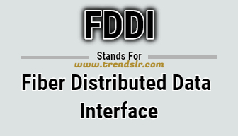 Full Form of FDDI