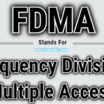 Full Form of FDMA