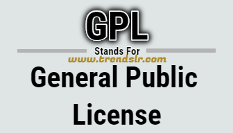 Full Form of GPL