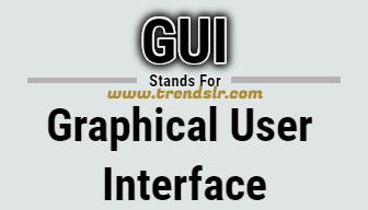 Full Form of GUI