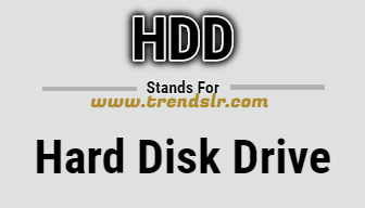 Full Form of HDD