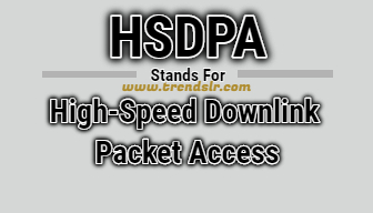 Full Form of HSDPA