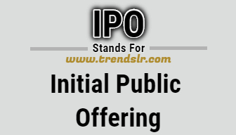 Full Form of IPO