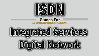 Full Form of ISDN