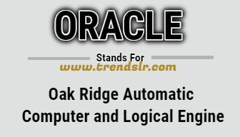 Full Form of ORACLE