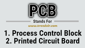 Full Form of PCB