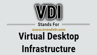 Full Form of VDI