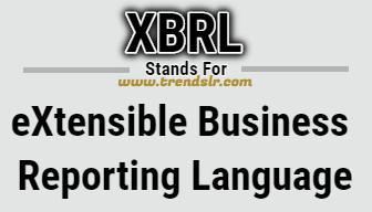 Full Form of XBRL